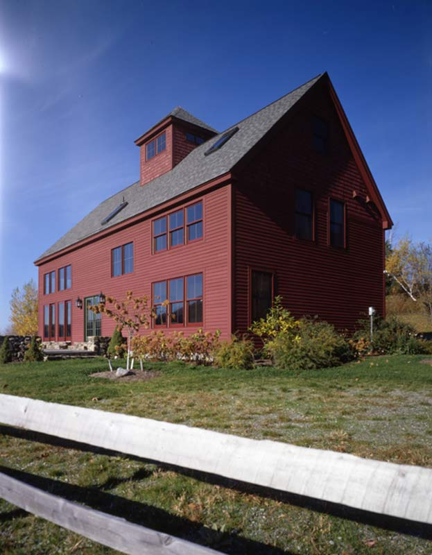 new vermont barn home