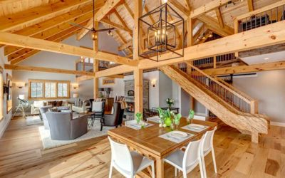 Designing Your Timber Frame Great Room