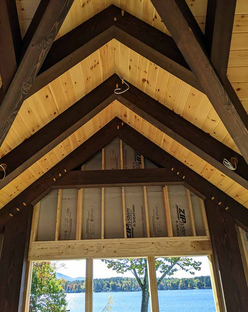 lakeside timber frame nh