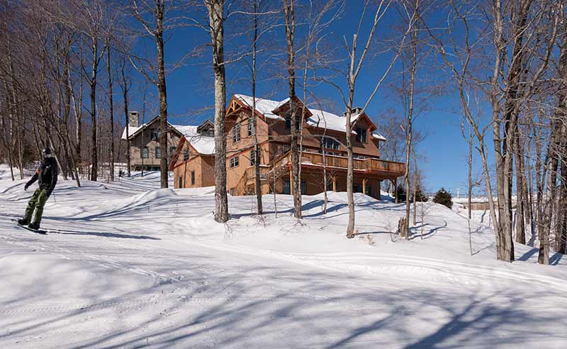 Amazing Timber Frame Ski Homes