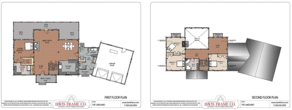 the lakeland timber frame plan