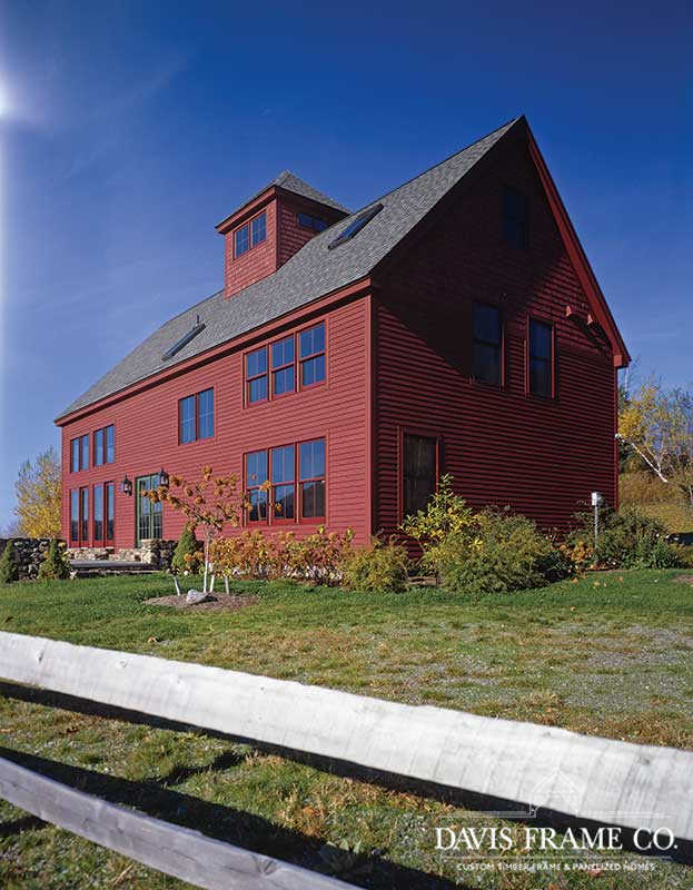 barn home in vermont