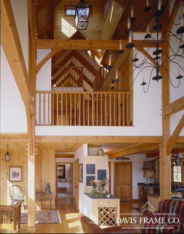 Classic barn timber frame home