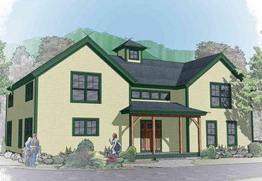 Classic farmhouse 2 floor plan