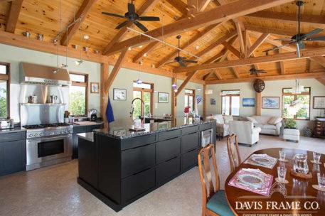 Grand Cayman timber frame kitchen