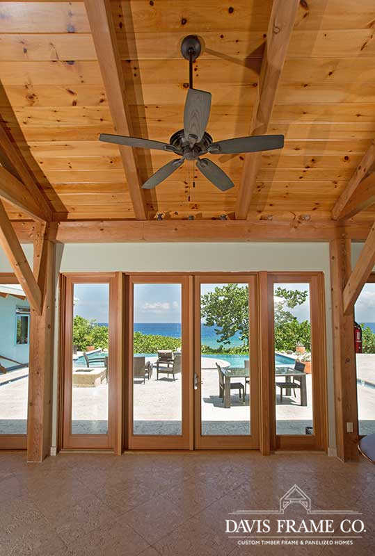 Grand Cayman timber frame living