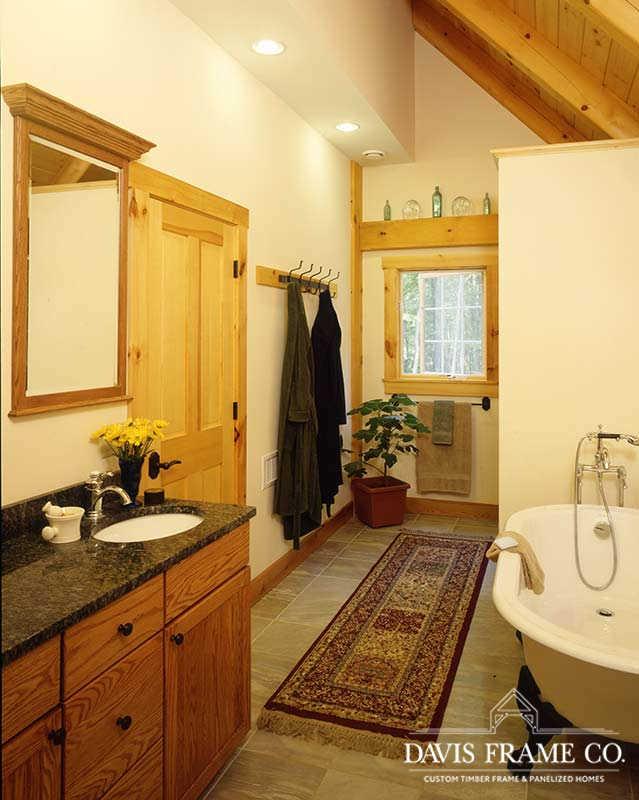 Classic farmhouse bathroom