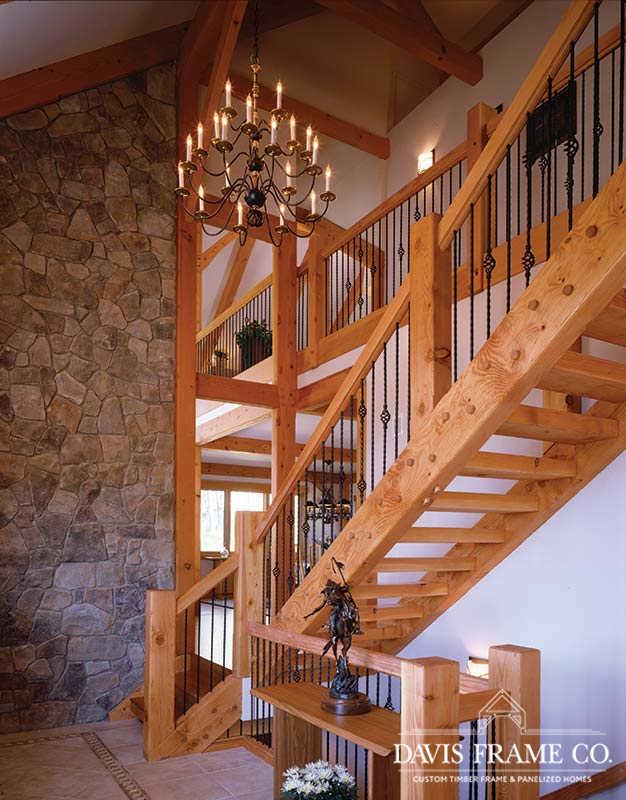 Breckenridge Colorado timber frame home