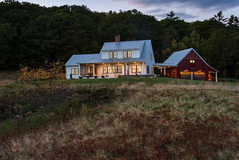 Dash Landing farmhouse by Whitten Architects