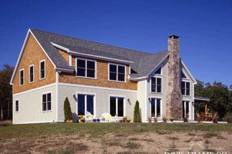 North Shore Massachusetts Post and Beam Home