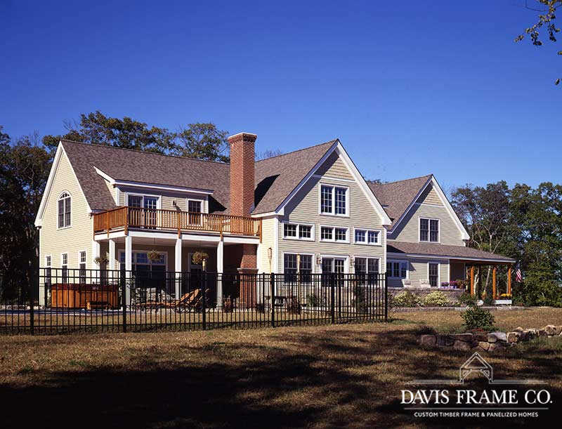 North Shore Massachusetts timber frame home