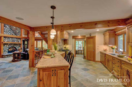 New Hampshire timber frame home