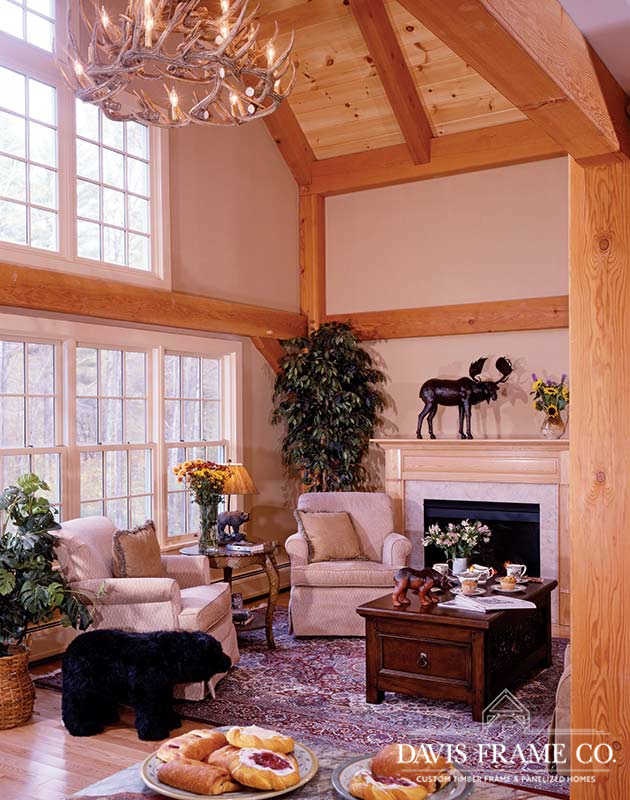 Classic homestead barn great room