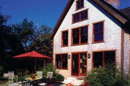 Martha's Vineyard timber frame home