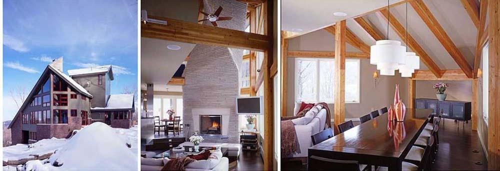 killington vermont timber frame