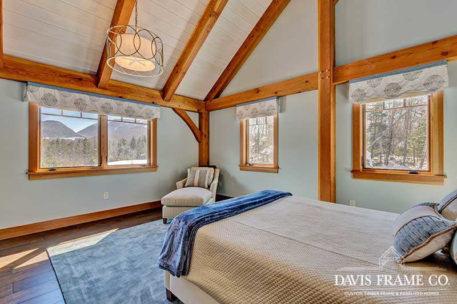 White Mountains Timber Frame Home