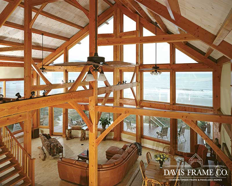 Myrtle Beach timber frame home