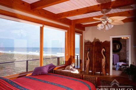 Myrtle Beach South Carolina timber frame bedroom