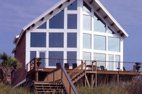 Myrtle Beach South Carolina timber frame home