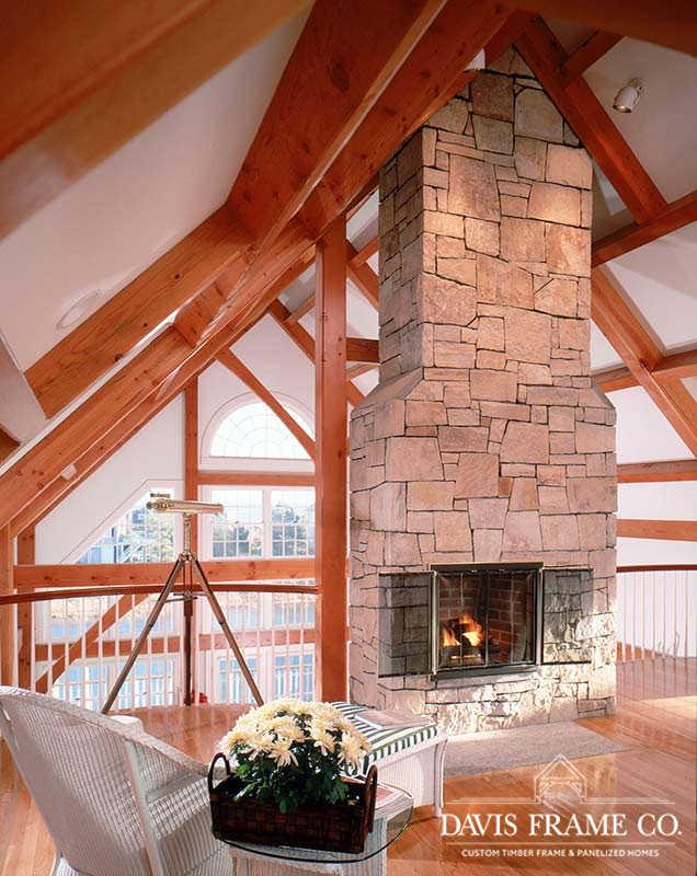 Cape Cod timber frame home