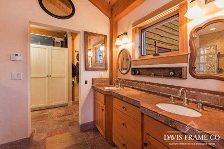 Oregon timber frame home