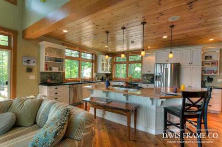 Lakeside New Hampshire panelized home