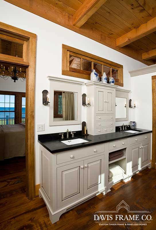 Timber frame bathroom