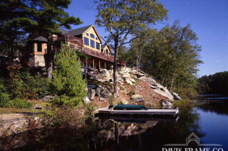 Connecticut timber frame home