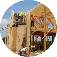 timber frame and sips construction