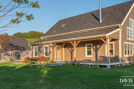 Long Island post and beam home