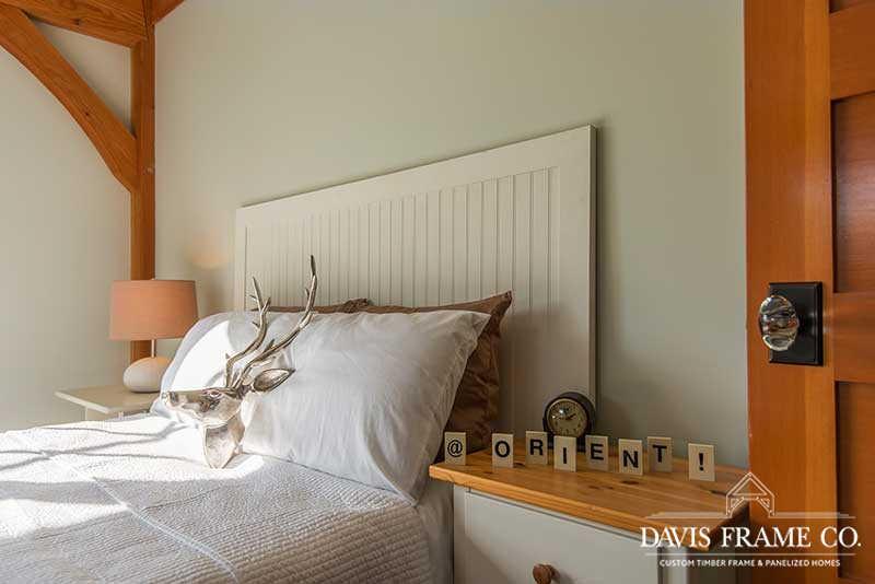 Long island barn home bedroom