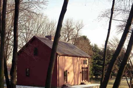 Classic studio barn home