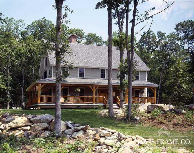 Classic Farmhouse timber frame