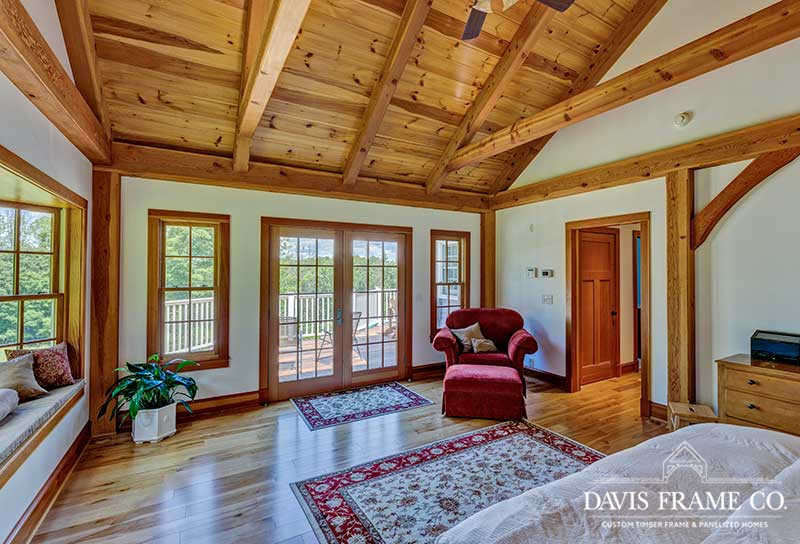 Vermont timber frame home