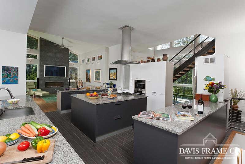 Modern prefab kitchen