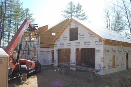 Lakeside panelized home in New Hampshire