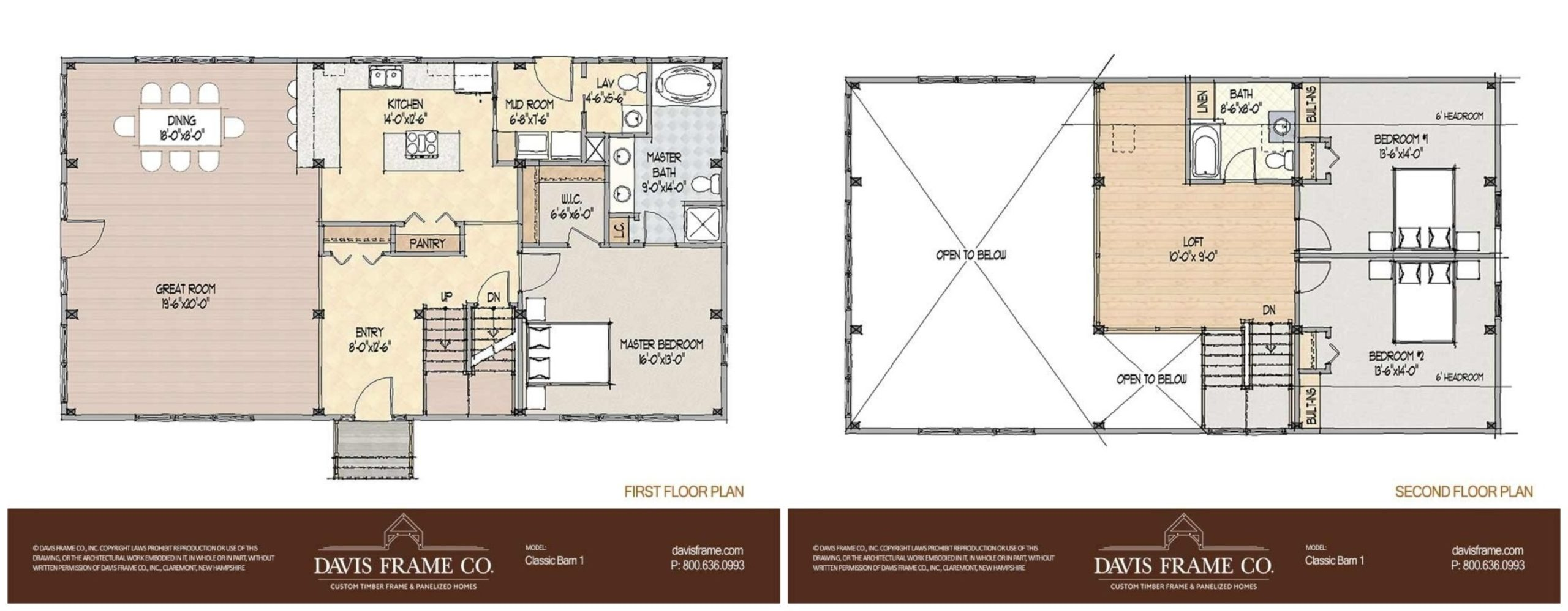 classic barn home 1 floor plan