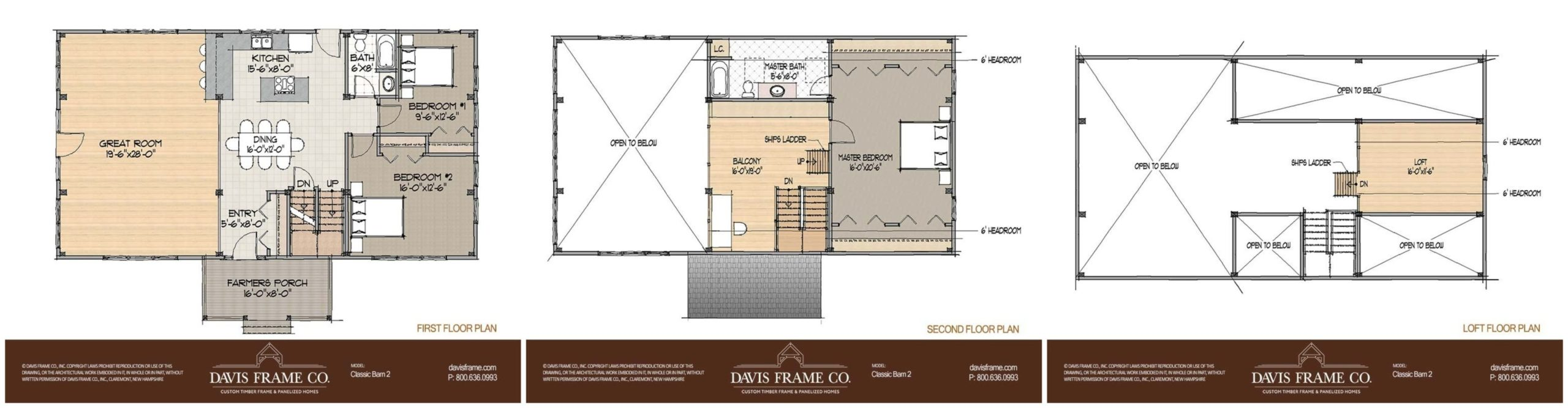 classic barn home 2 floor plan