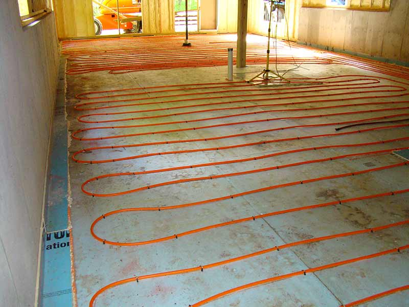 home heating systems - radiant heat